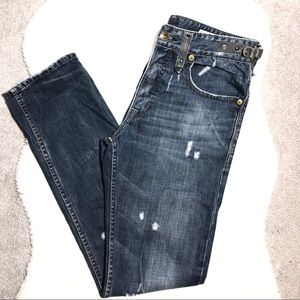 Sugar Cane Distressed Jeans Size 29